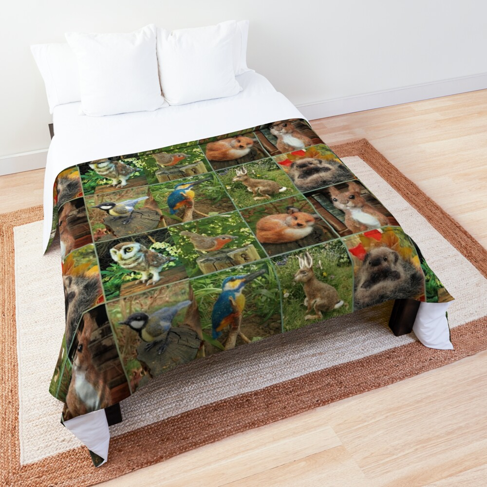 Collage Comforter king Size