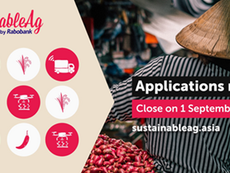 "ThinkAg NEWS: Inviting Applications to Rabo Bank's ""SustainableAg Asia Challenge"" and more"