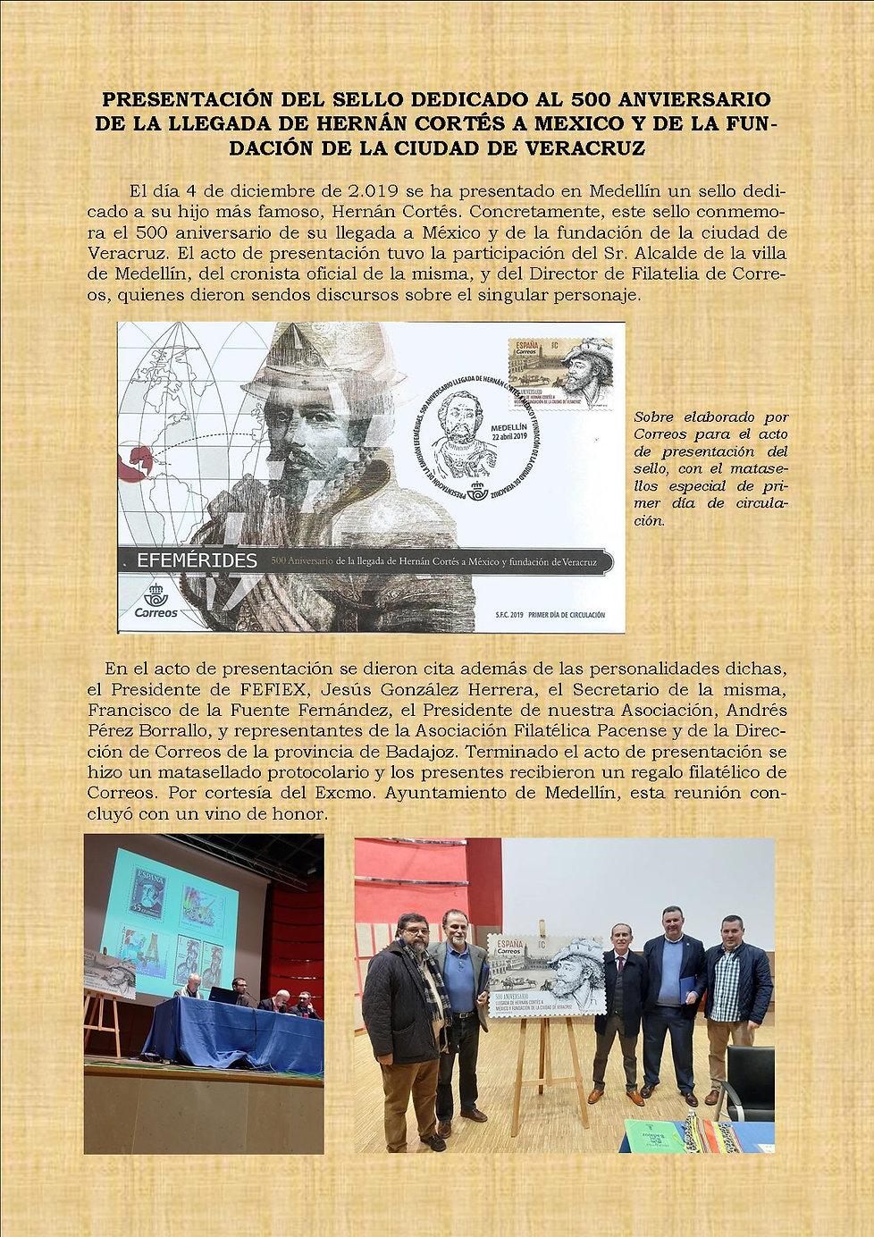 Noticia_Presentación_sello_Hernán_Cortés