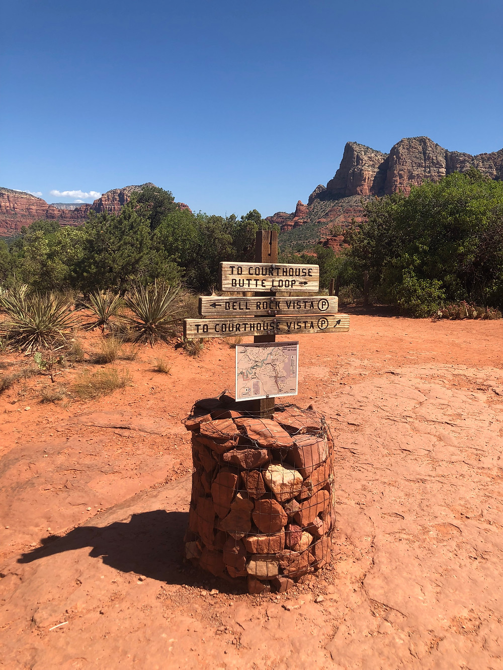 hiking, trail head, Sedona hikes, red clay, Bell Rock
