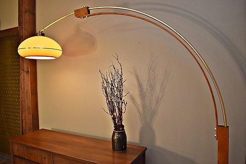 Mid Century Large Arc Floor Lamp by Nova Lighting