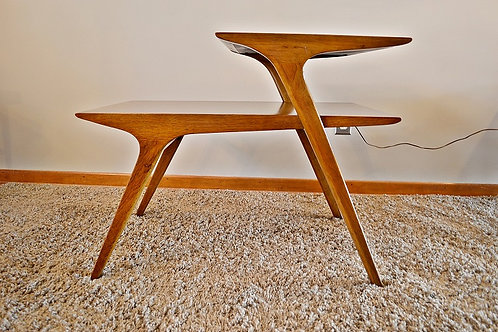 Mid Century Drexel Profile Side / End Table by John Van Koert