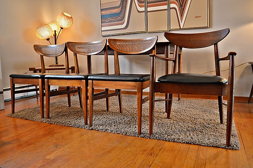 Mid Century George Nelson Attributed American of Martinsville Dining Set