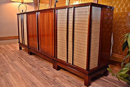 Bluetooth Mid Century Philco High Fidelity Stereo System - 1959