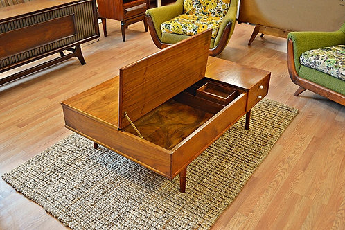 "Mid Century MacDougall & Stewart for Drexel ""Declaration"" Coffee Table"