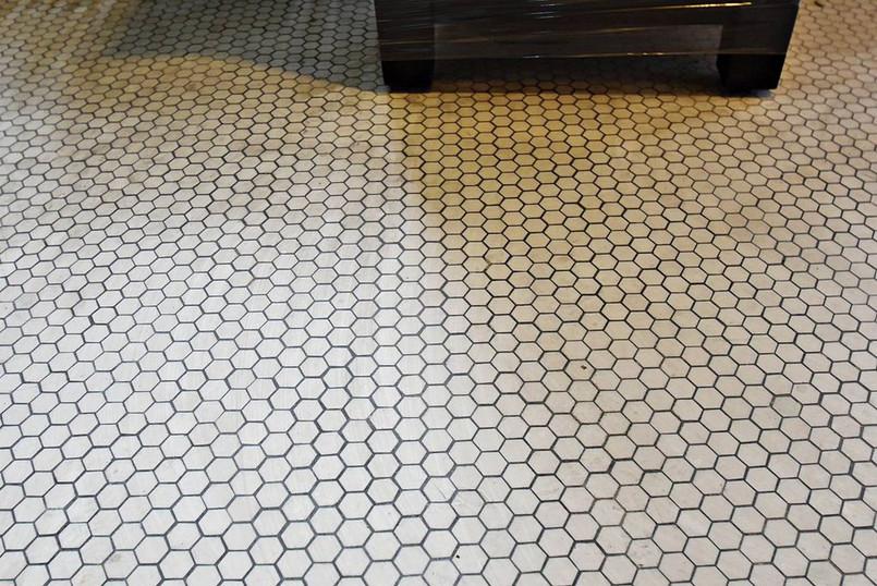 Original Bathroom Tile Floor