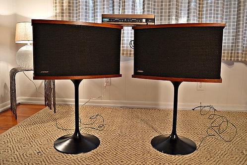Vintage Bose 901 Series V Speakers on Tulip Bases