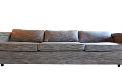 Long, Low Profile 1970's Fully Restored Retro Floating Sofa
