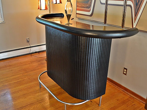 Mid Century Rounded Cocktail Bar - 1970s