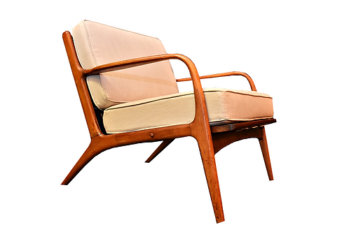 Mid Century Adrian Pearsall Lounge Chair Model 2315-c