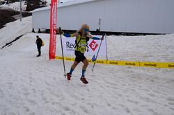 Участница Red Fox Elbrus Race