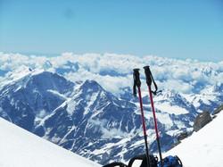 Это не ветер, это горнолыжник