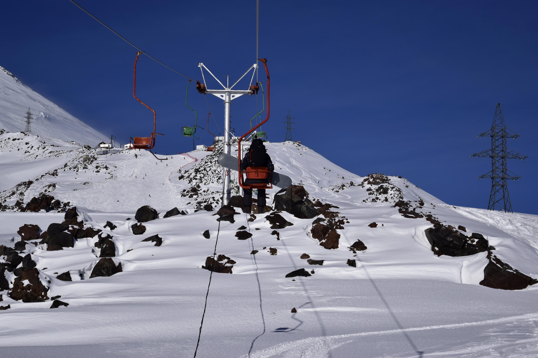 Кресельная канатка на Эльбрусе