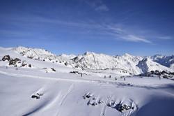 Большой Кавказский хребет февраль 18