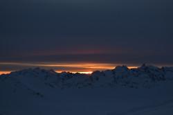 Закат с Эльбруса