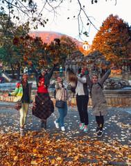 Золотая осень в Пятигорске.