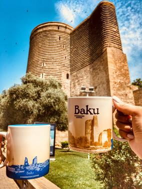 Девичья башня - символ Баку.