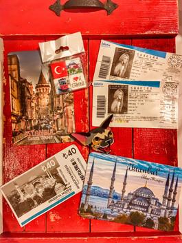 Наш Стамбул в картинках и билетиках.