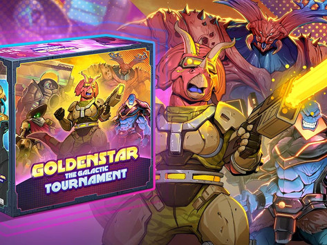 Space Stone Preview- Goldenstar: The Galactic Tournament