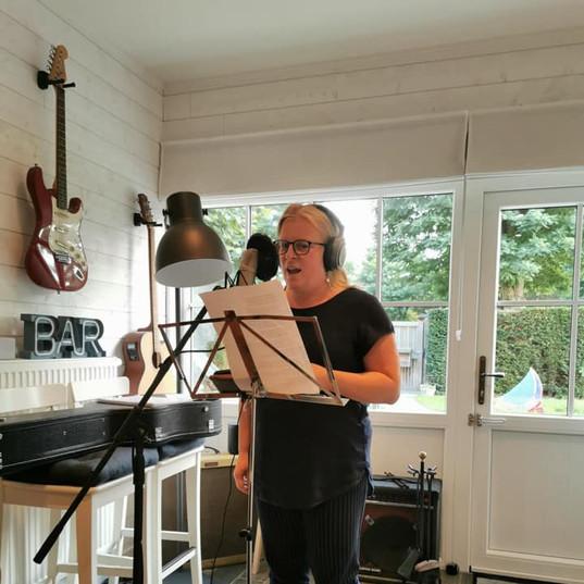 Recording session of Lunalove