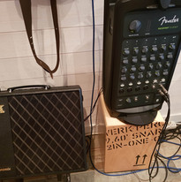 We've got all the amps and percussion you need