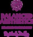 New Logo Purple Balanced Aesthetics by W