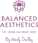 New Logo Purple Balanced Aesthetics by W