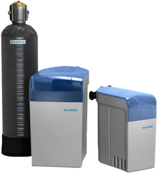 SUMO Non electric softeners. Highly efficient