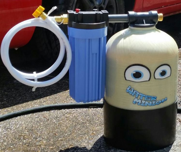 Water Minion portable water softener