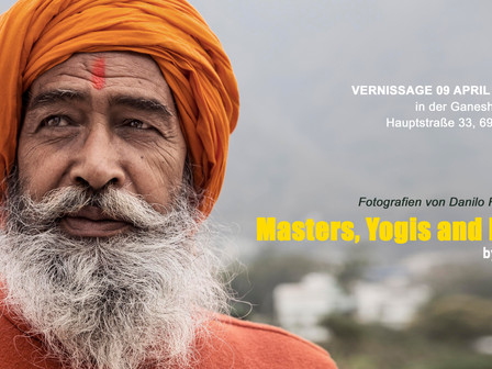 MY FIRST EXHIBITION! Join me in this Spiritual Journey! on April 9th / Vernissage starts at 19.30