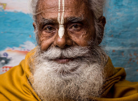 SADHU IN RISHIKESH, INDIA