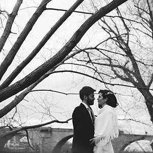 A ROMANTIC WINTER WEDDING
