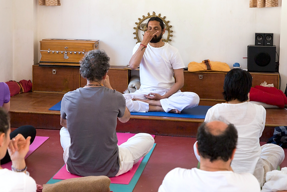 SATSANG & YOGA NIDRA with Yogi Ram
