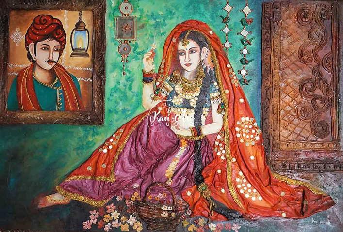 rajasthani-lasy-3d-wall-art.jpg