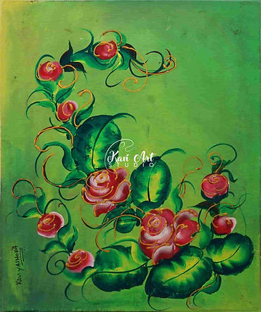 one stroke fabric painting classes in hyderabad