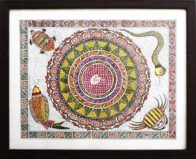 dhan-chakra-madhubani-frame-minjpg