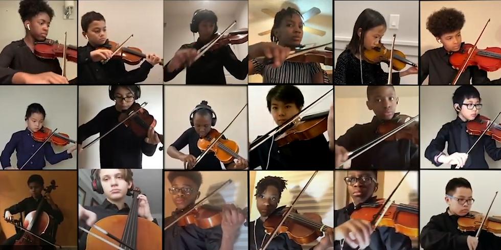 Spring Virtual Concert - Preparatory Strings & String Orchestra