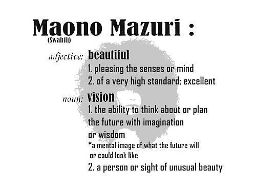 Maono Mazuri Defined Tee