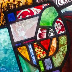 Incorporation of Wrights Window - Glasgow Royal Infirmary