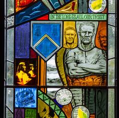 Incorporation of Masons Window - Glasgow Royal Infirmary