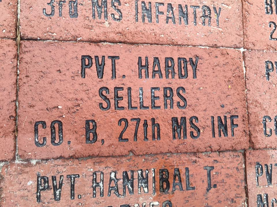 Pvt. Hardy Seller's Brick