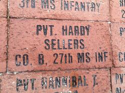 Pvt. Hardy Seller's Brick