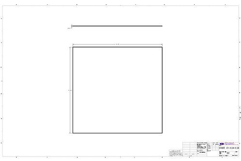 "Sheet 0.010"" x 24"" x 25"""