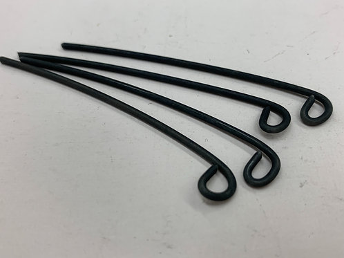 "Wire Loop J Pins 040"" x 3/4"" Loop x 1.5"" Long"