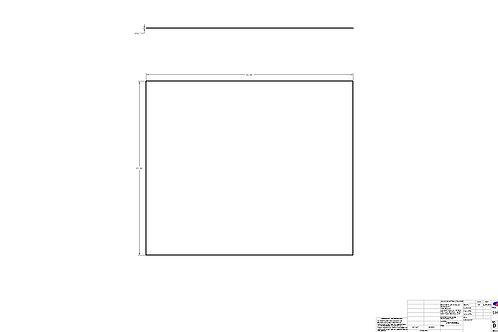 "Sheet 0.015"" x 21"" x 25"""