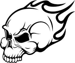 skullflaming