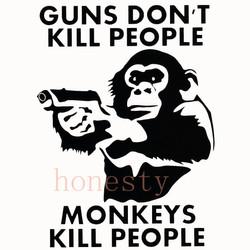 Monkey-With-Gun