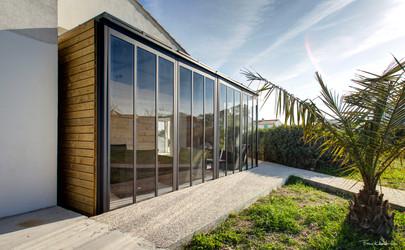Double Cube veranda
