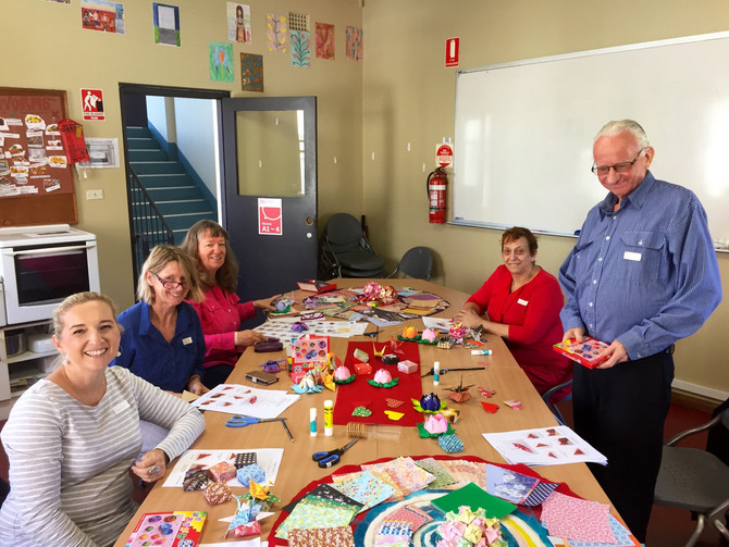 Origami Beginner Class at Sydney Community College - Rozelle campus