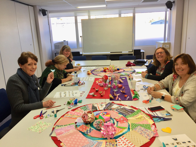 New Course at Hornsby ku-ring-gai community collage Origami Class